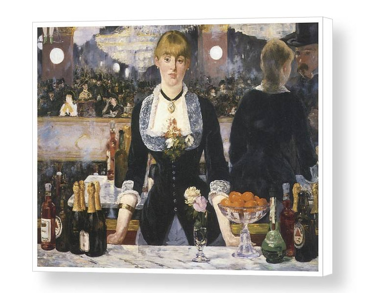 A BAR AT THE FOLIES-BERGÈRE BY EDOUARD MANET